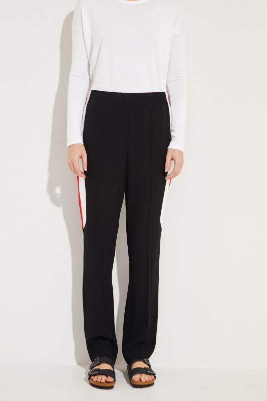 Hose mit Streifendetails Schwarz/Multi