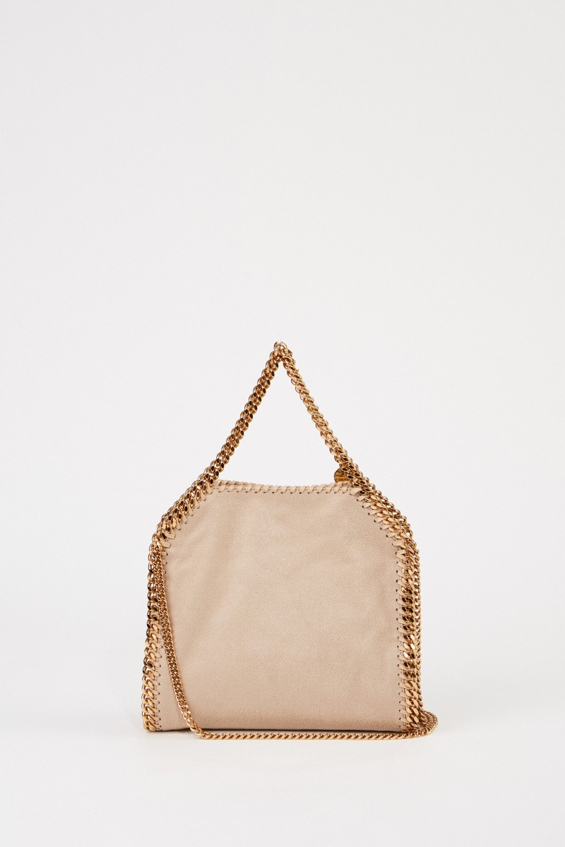 Stella McCartney Shoulder Bag 'Mini Tote Falabella' Butter Crea