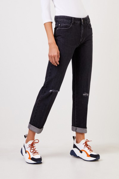 Stella McCartney Used look jeans Anthracite