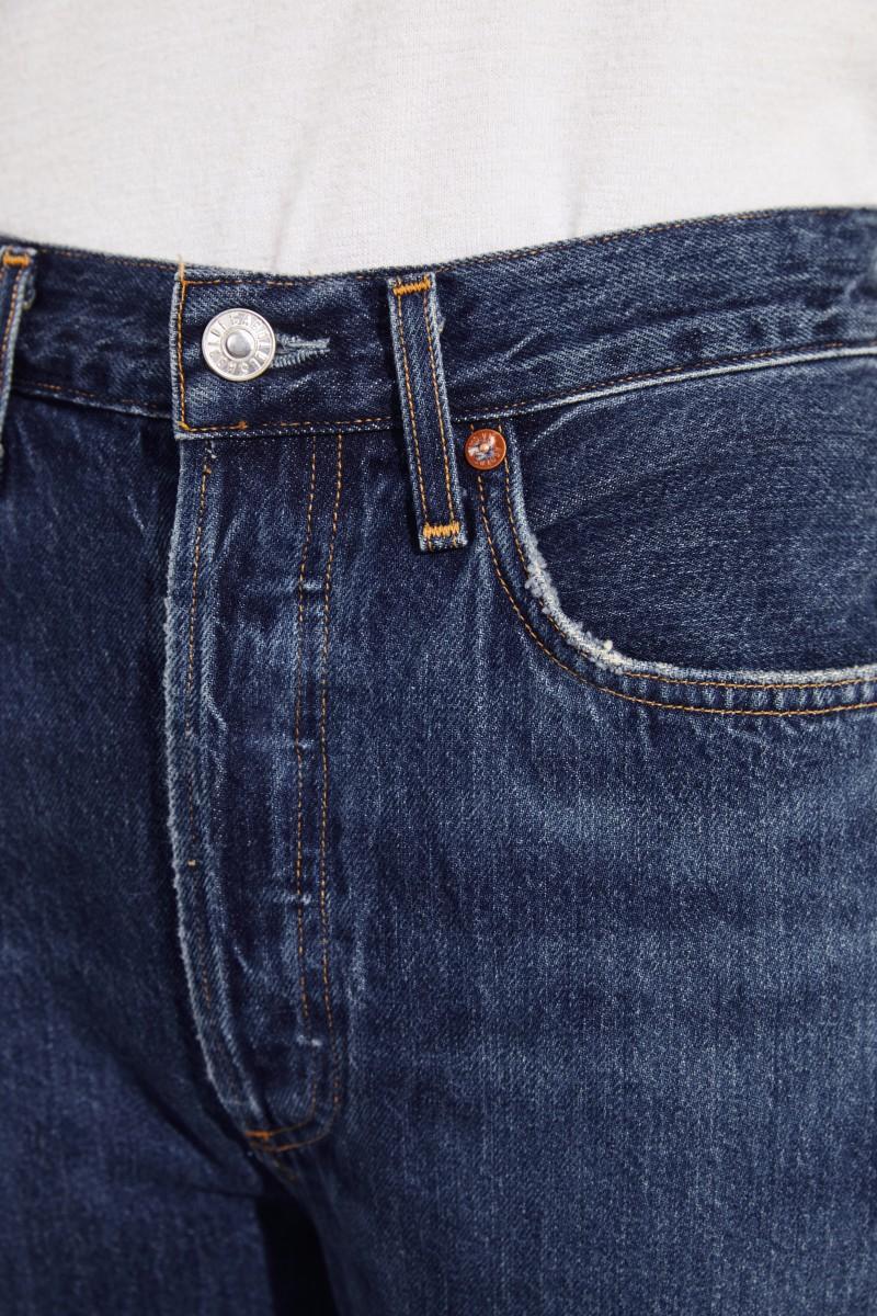 High Rise Jeans 'Riley' Blau
