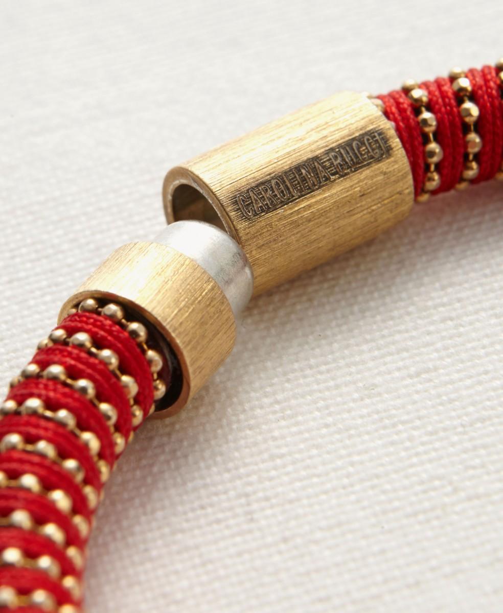 Armreif 'Twister' Gold/Multi