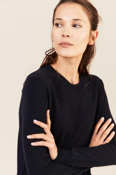 Cashmere-Pullover 'Bella' Blau