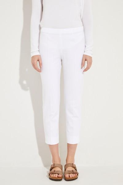 Baumwoll-Hose 'Audrey' Weiß