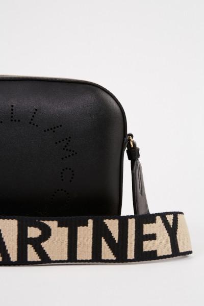 Stella McCartney Umhängetasche 'Mini Camera Bag' Schwarz