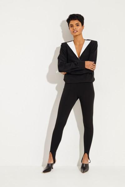 Givenchy Hose mit Biesennähten Schwarz