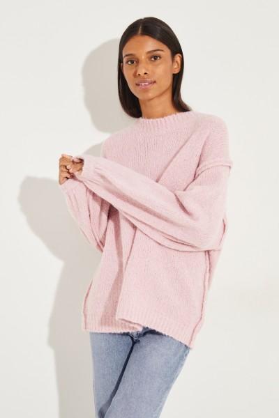 Oversize Pullover 'Kiara' Rosé