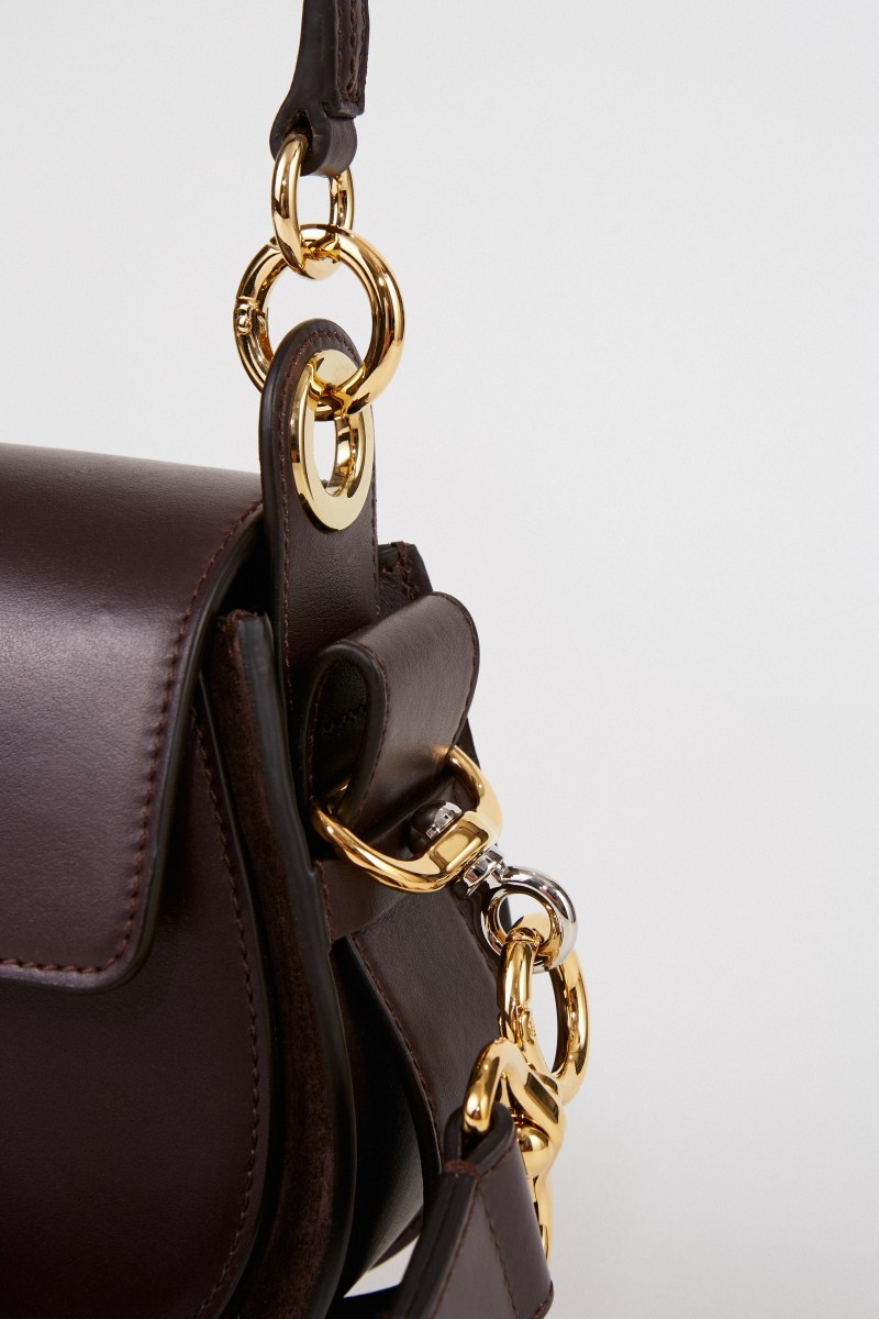 Chloé Umhängetasche 'Tess Small' Black Raisin