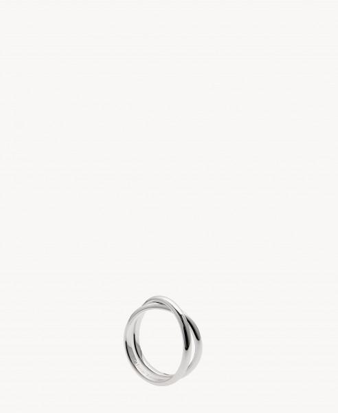 Ring 'Twisted' 18 Kt.Weißgold