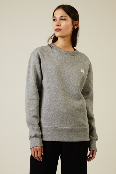Sweatshirt 'Fairview Face' Light Grey Melange