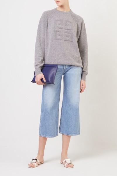 Jeans mit weitem Bein 'Sacha' Blau