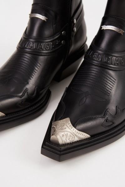 Balenciaga Cowboy-Stiefelette 'Santiago Bootie' Schwarz