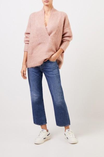 Pull en cachemire laine et cachemire Rosé