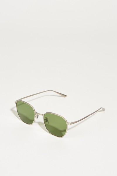 Sunglasses 'The Row' Silver/Green