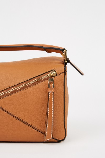 Loewe Tasche'Puzzle Bag Small' Light Camel