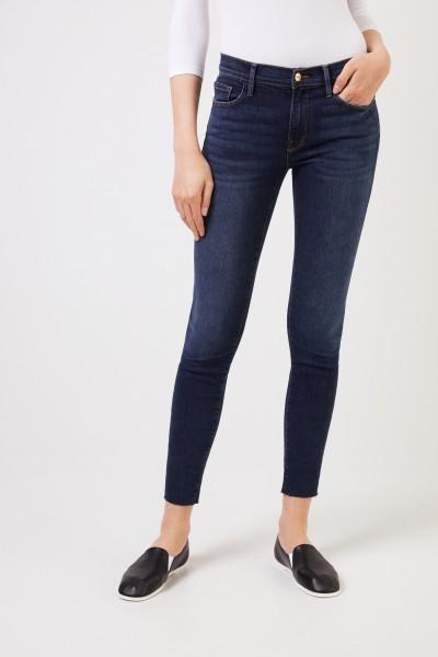Frame Skinny Jeans 'Le Skinny De Jeanne' Marineblau