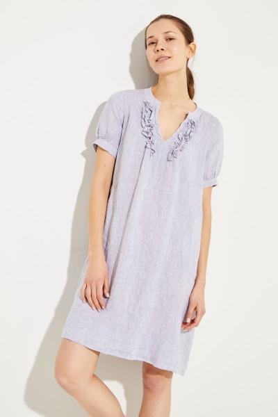 Kleid mit Rüschen-Details 'Maryl' Grau