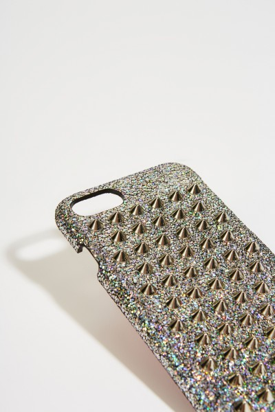 Christian Louboutin IPhone 7/8 Case 'Loubiphone' Silber