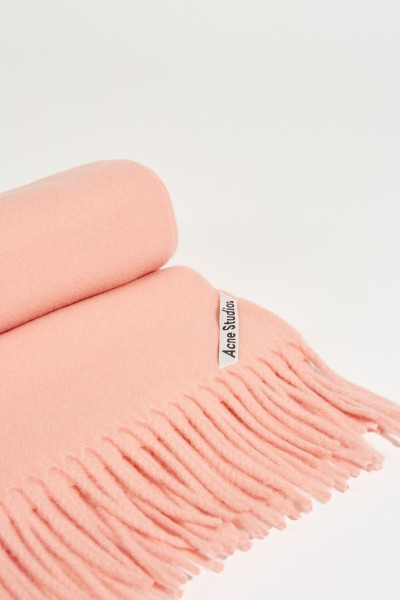 Acne Studios Klassischer Wollschal 'Canada New' Rosé Pale Pink