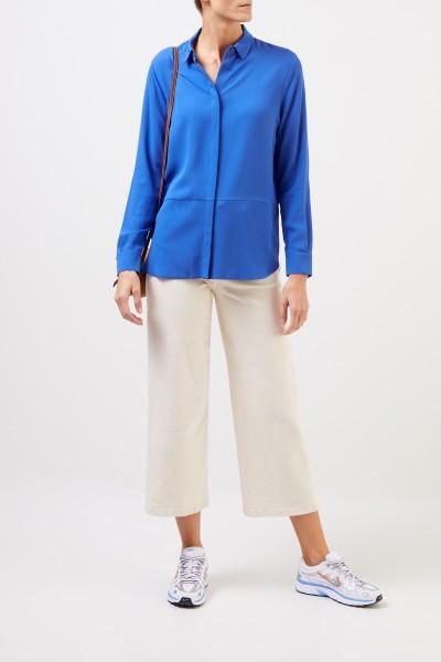 Iris von Arnim Silk blouse 'Mabelle' Blue