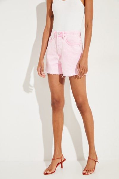 Jeans-Shorts 'Dee Short' im Destroyed-Look Rosé