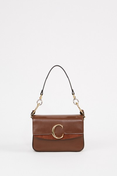 Tasche 'Chloè C Small' Sharp Brown