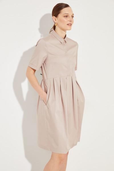 Baumwoll-Kleid Beige