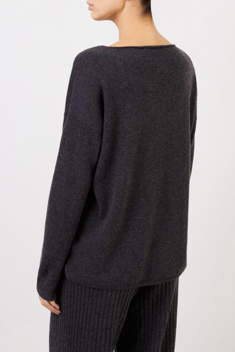 Cashmere-Pullover 'Cayo' Anthrazit