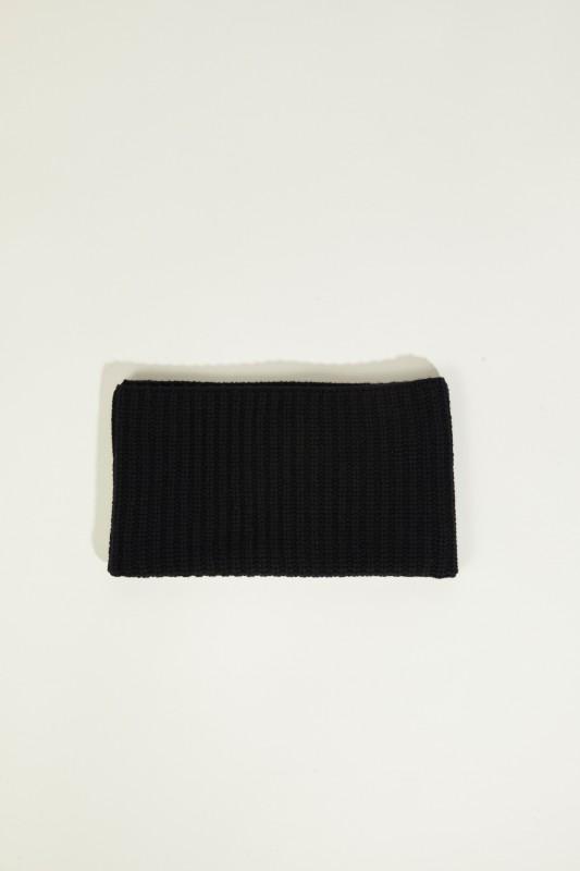 Cashmere-Schlauch-Schal Blau