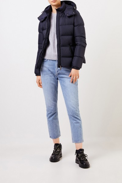 Down jacket 'Don' Navy Blue
