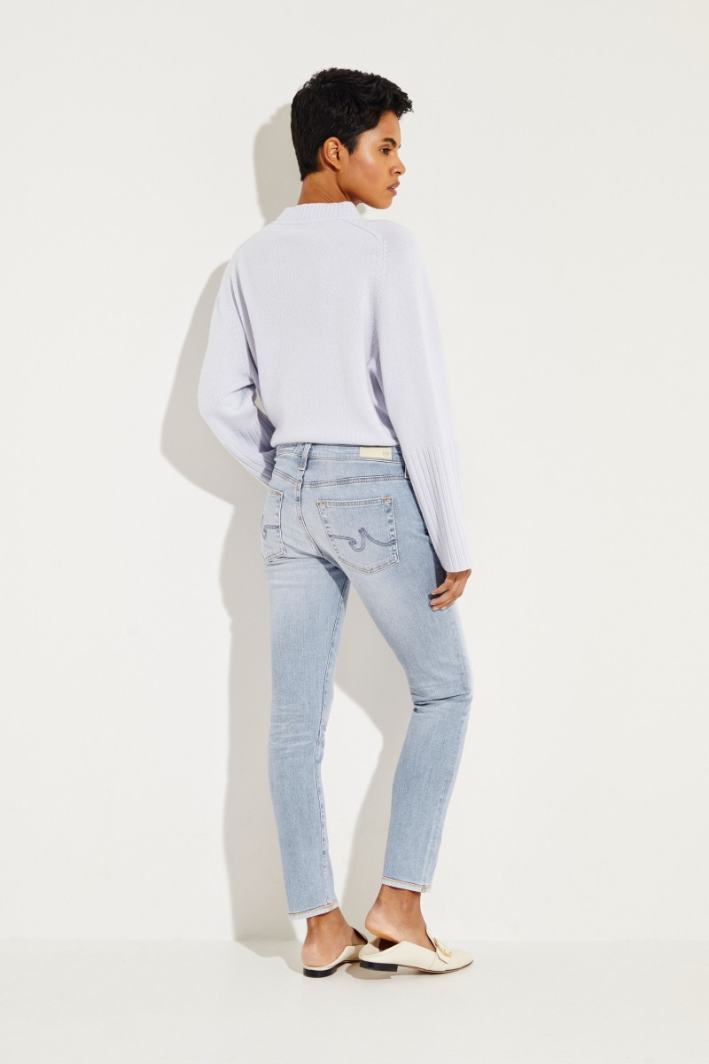 Skinny Jeans 'Prima Ankle' Hellblau