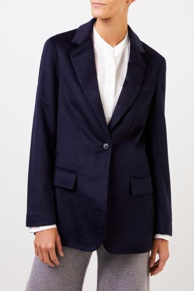 Uzwei Cashmere blazer Navy Blue