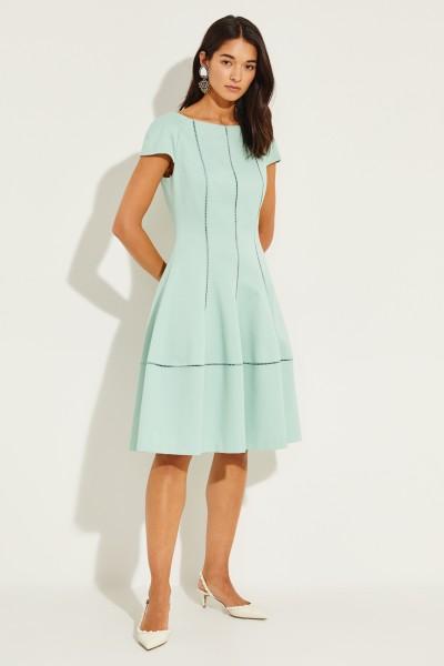 Mini dress with texture Mint