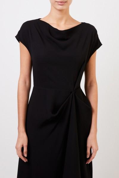 Co Dress with asymmetric hem Black