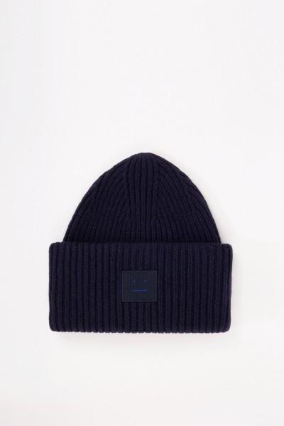 Mütze 'Pansy N Face' Marineblau