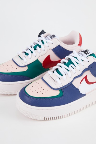 Nike Plateau-Sneaker 'Air Force 1' Weiß/Grün