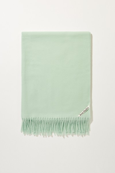 Classic woollen scarf 'Canada New' Mint