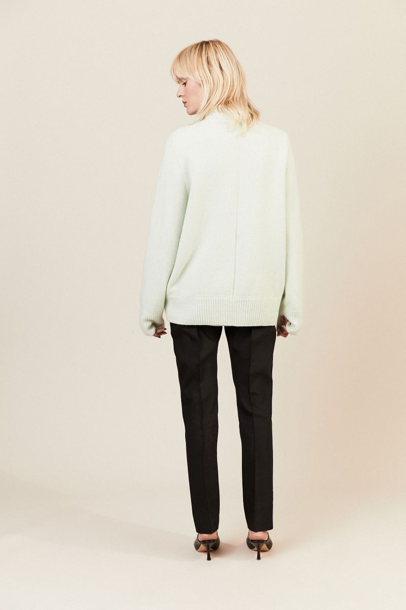 Woll-Cahsmere-Pullover 'Sibel' Mint
