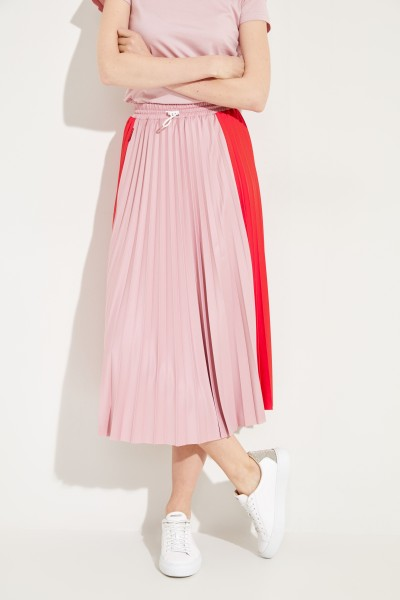 Pleated Skirt Red/Rosé
