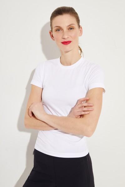 Schlichtes T-Shirt Weiß