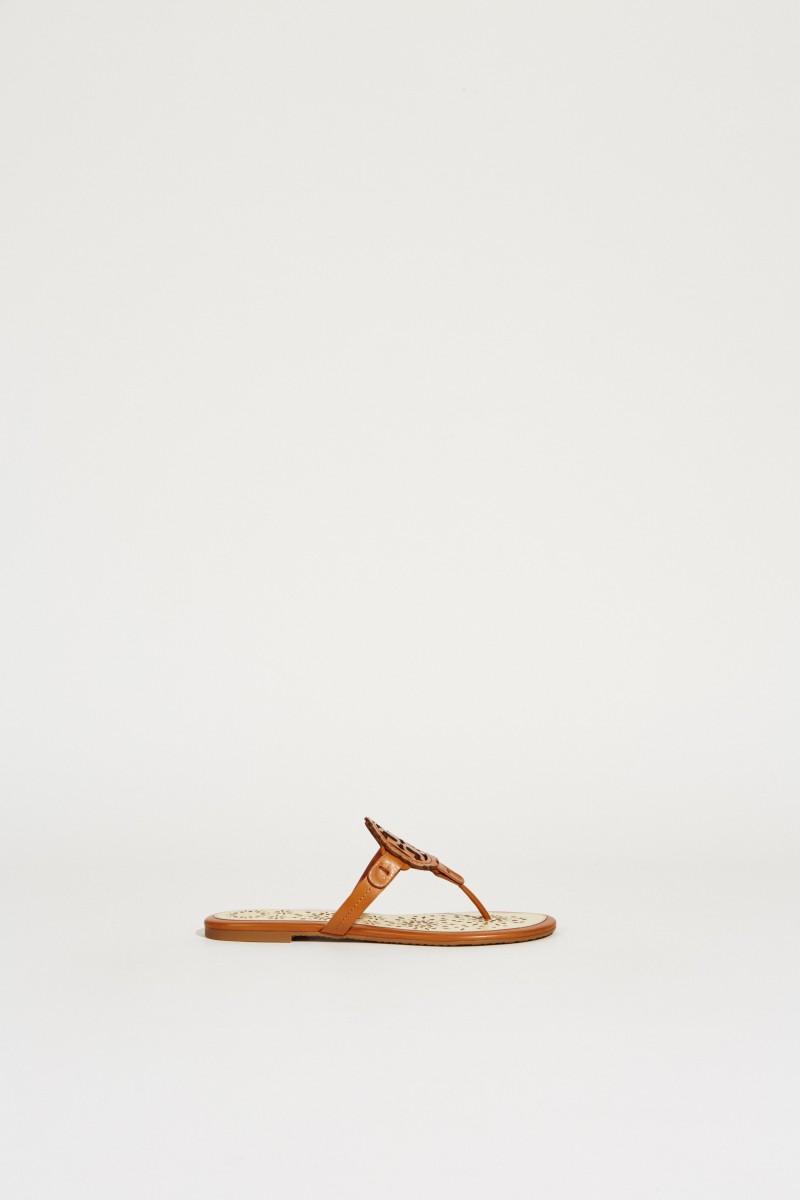 Flip-Flop 'Miller Scallop' Braun