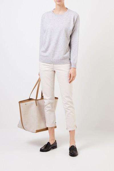 Klassische Jeans Beige