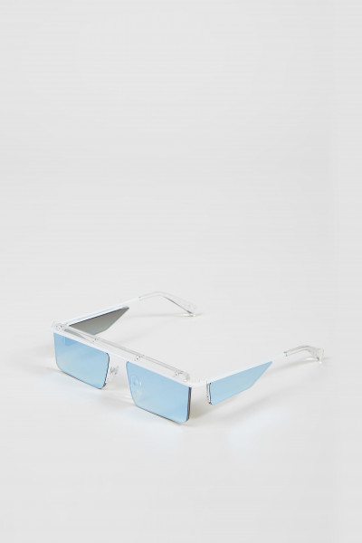 Sonnenbrille 'The Flex' White/Gold