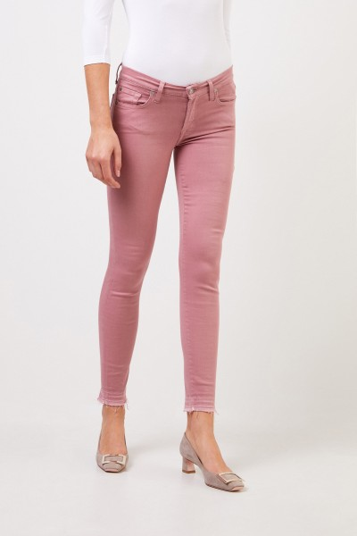 7 for all mankind Skinny-Jeans 'Skinny Cropped' Rosneholz