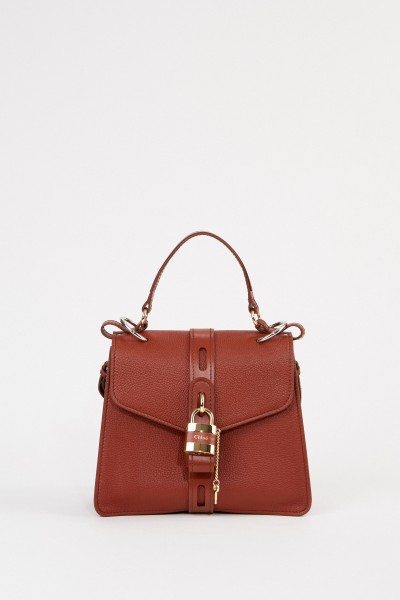 Chloé Tasche 'Aby Medium' Sepia Brown