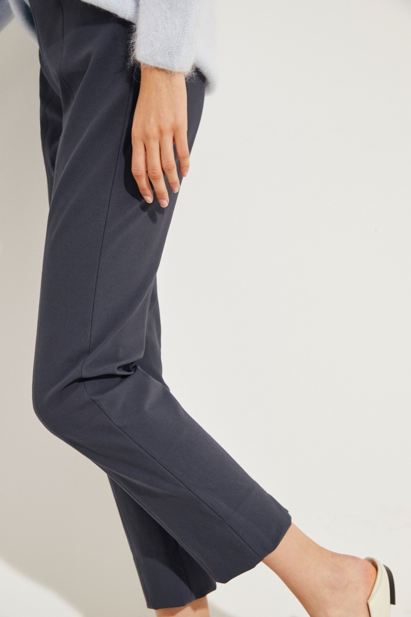 Stretch-Hose Grau