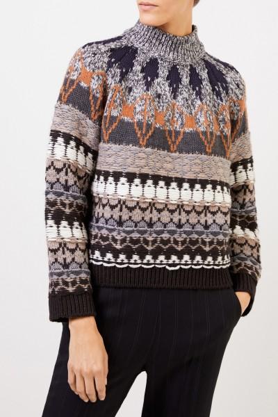Stella McCartney Gemusterter Woll-Pullover Multi
