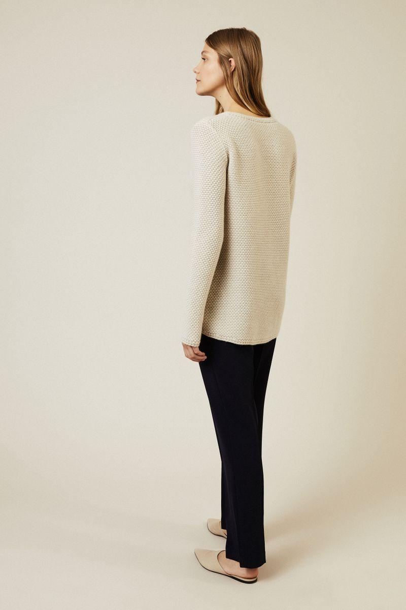 Cashmere Pullover 'Santorin' Beige