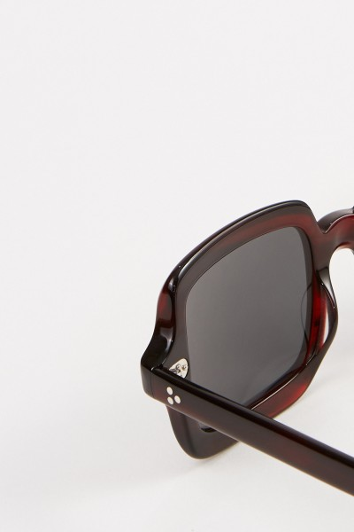Oliver Peoples Sonnenbrille 'Irven' Blau