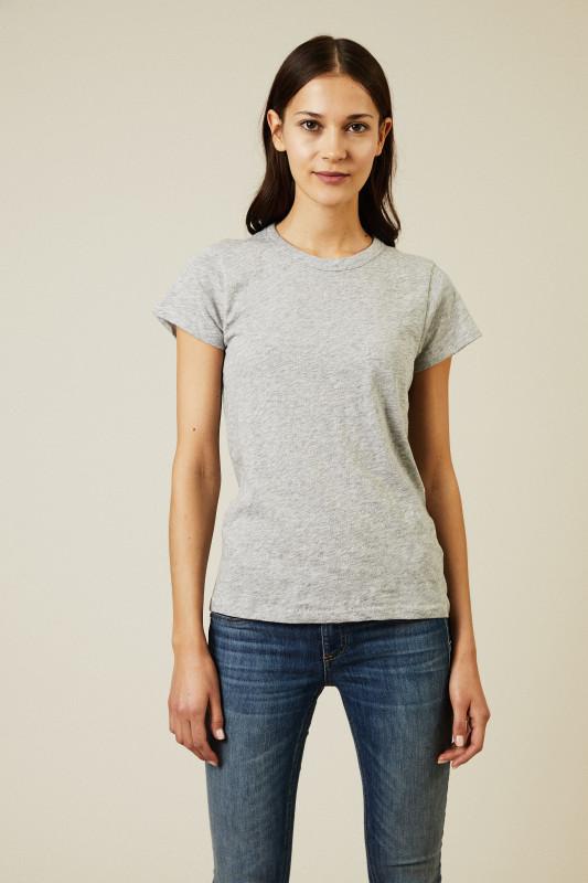 Basic-T-Shirt 'The Tee' Grau
