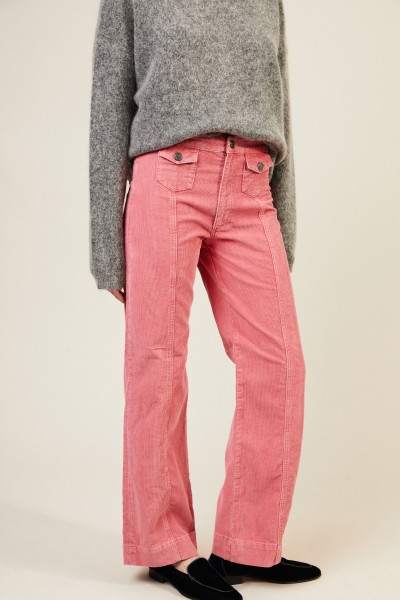 Cord-Hose Pink